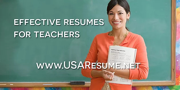 Effective Resumes For Teachers
